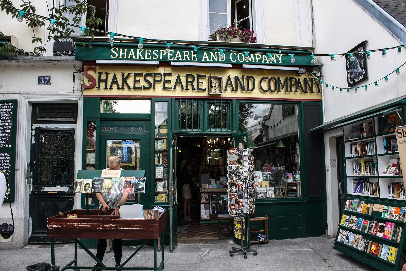 Shakespeare and Company bookstore Paris 13 August 2013