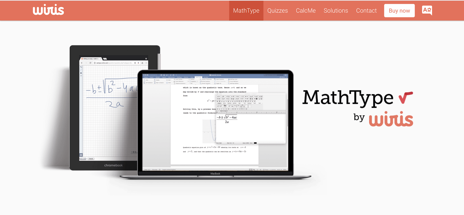 This is the MathType add-on.