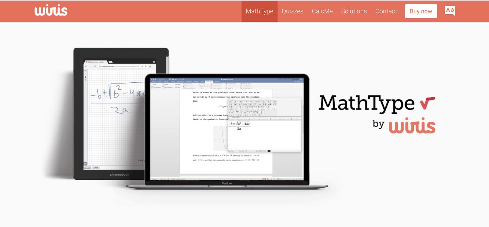 MathType add-on