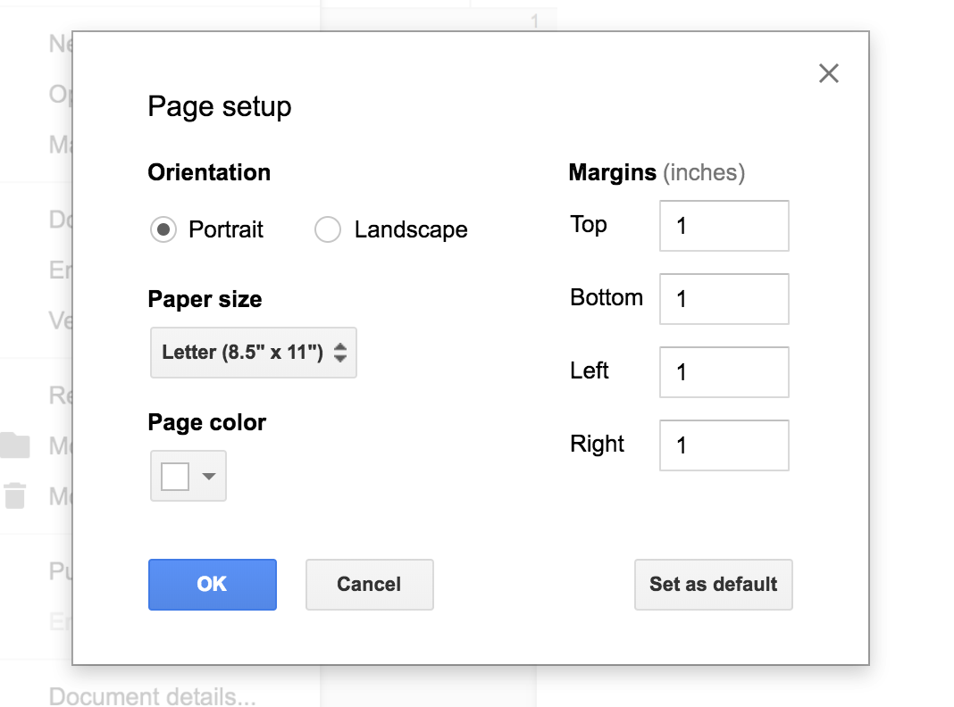 This is where you could adjust the margins to a specific number.
