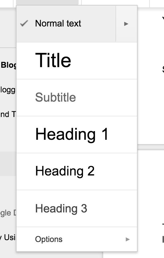 You can find this option on the Google Doc toolbar to adjust the text.