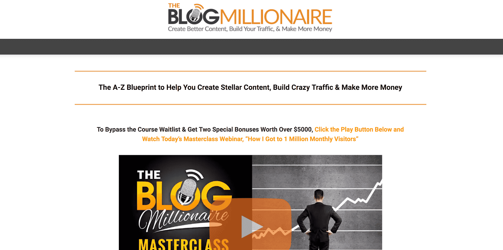Blog Millionare