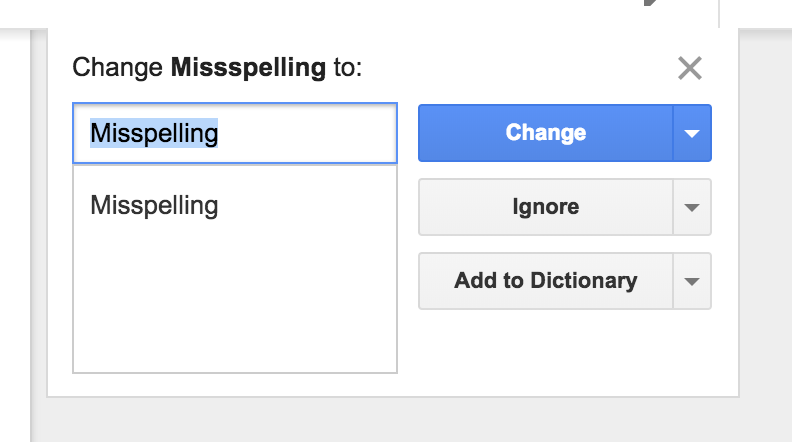 Google Docs only has a native spell checker.