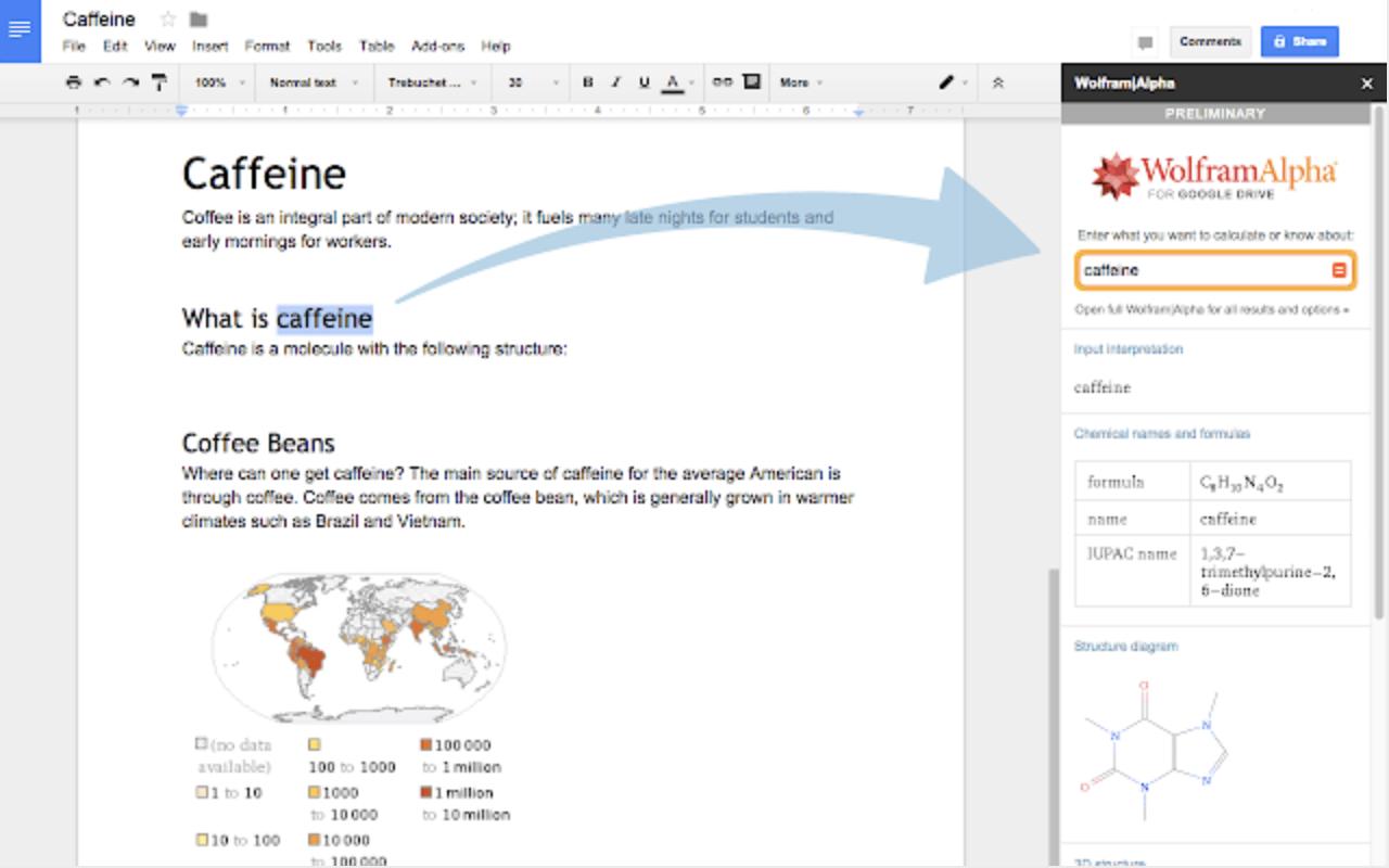 Wolfram add-on