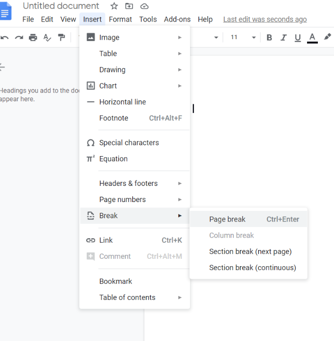 How To Delete A Page In Google Docs Wordable Watch the video on 4 ways to delete a blank page. how to delete a page in google docs