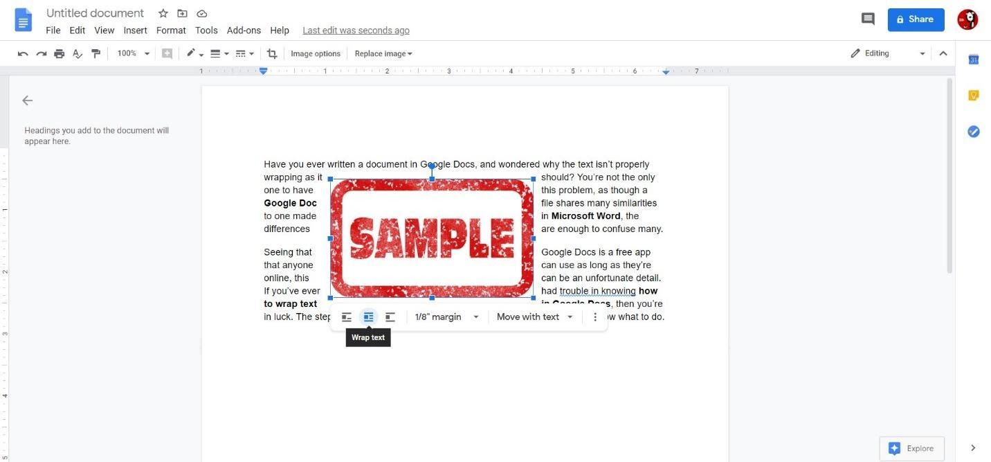 How To Wrap Text In Google Docs Wordable How to remove headers on google doc. how to wrap text in google docs wordable