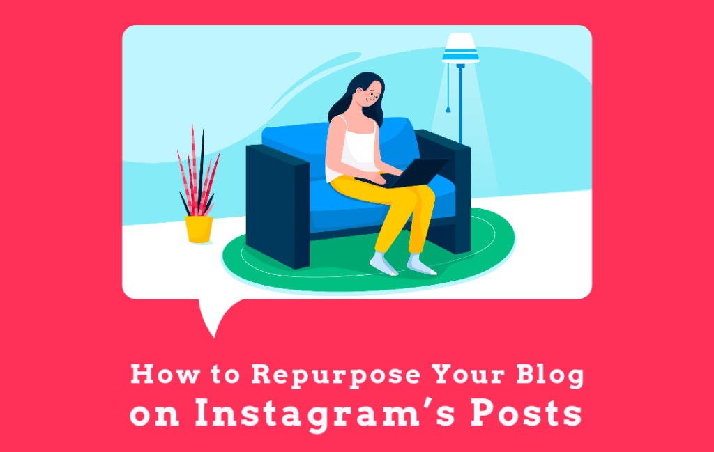 repurpose your bolg on instagram posts