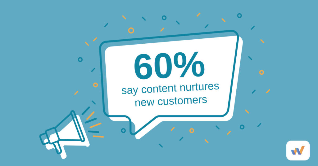 content nurtures new customers