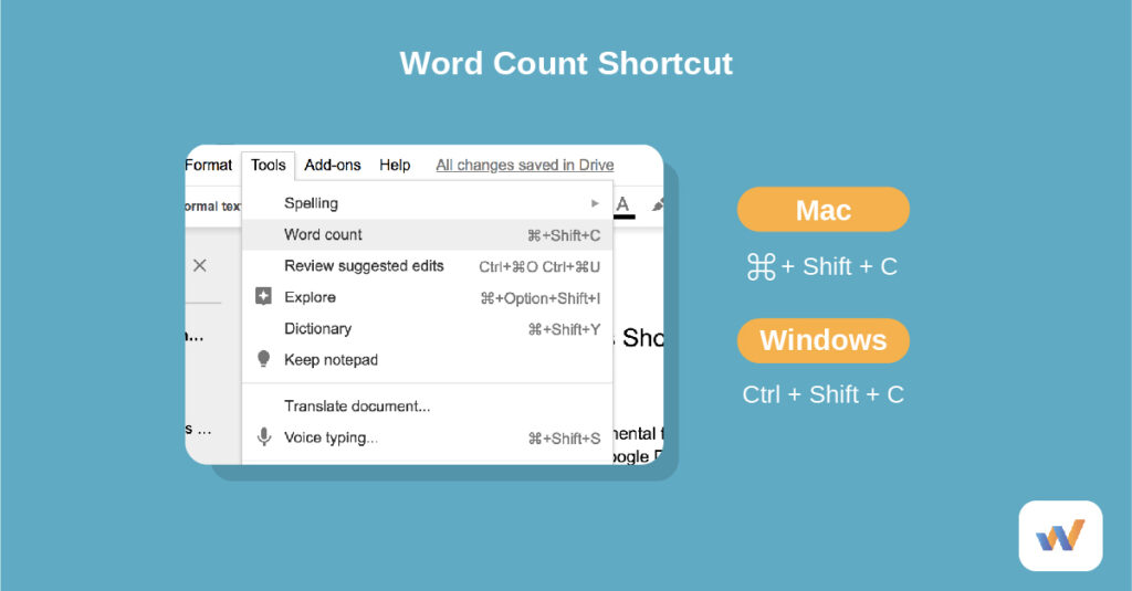 find word count