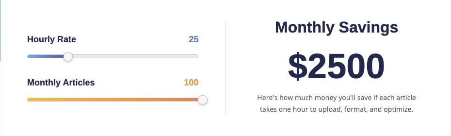 monthly savings