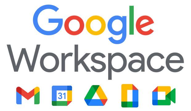 Screenshot of Google Workspace logo