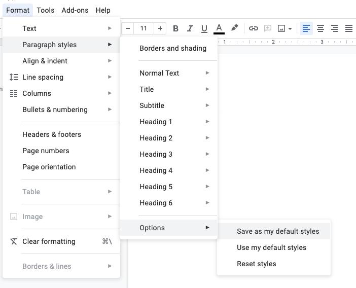 top Google Doc features