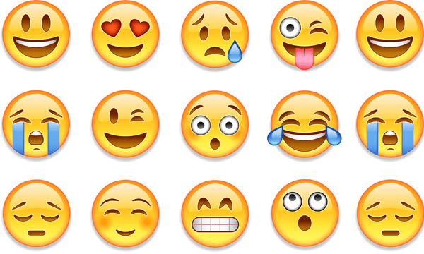 image showing different emojis