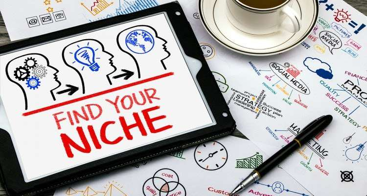 Find your niche for blogging