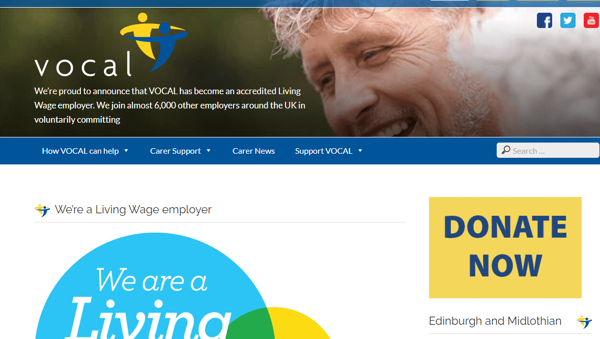 VOCAL becomes a living wage employer