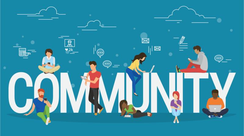 build a community for your blog; Caption/Title: Build your community
