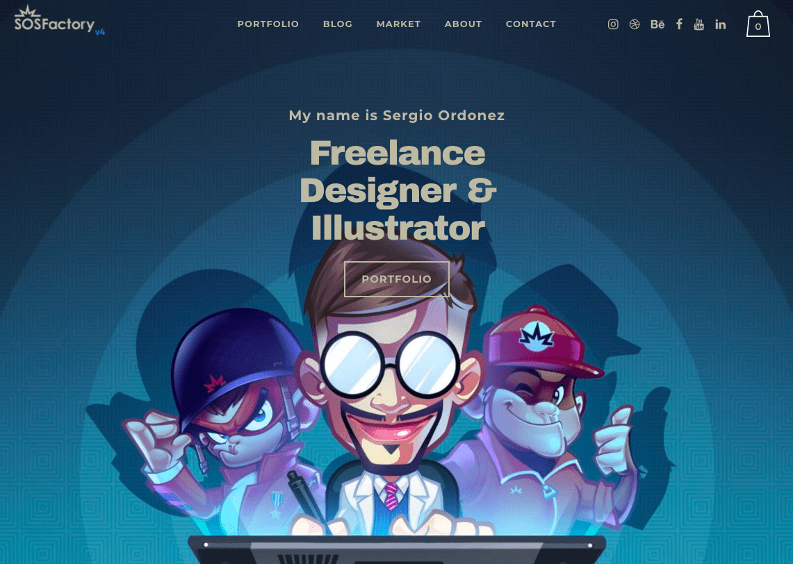 SOSFactory homepage