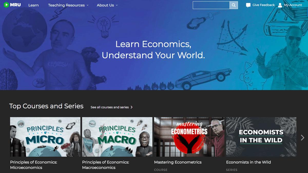 Marginal Revolution homepage