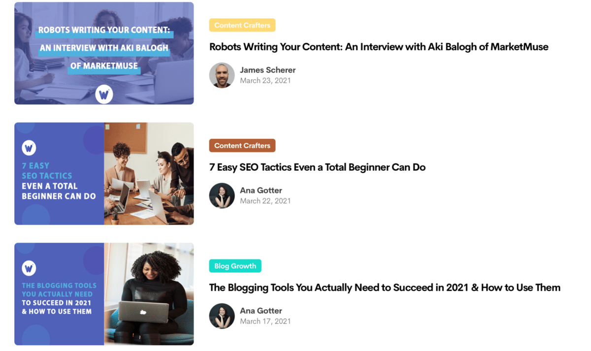 content marketing examples from Wordable.io
