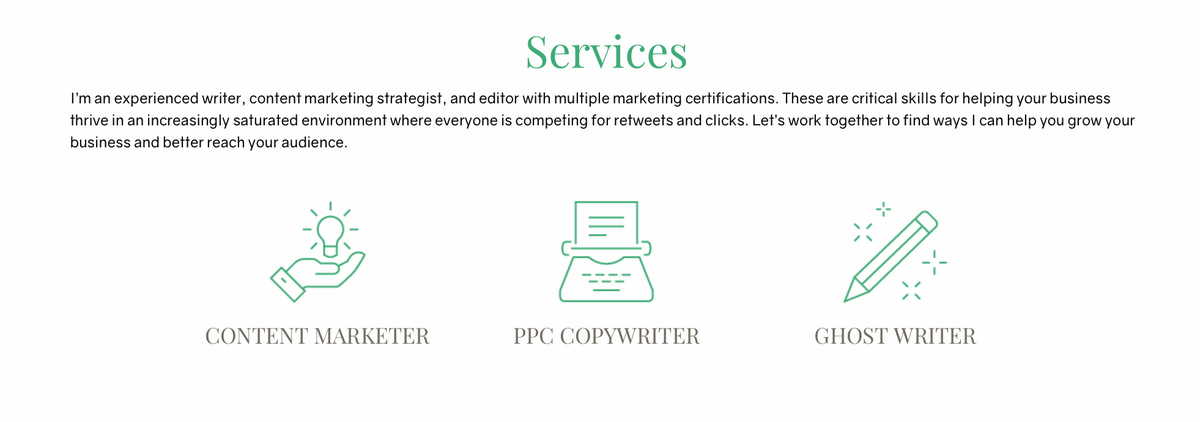 freelance writing business for content marketers