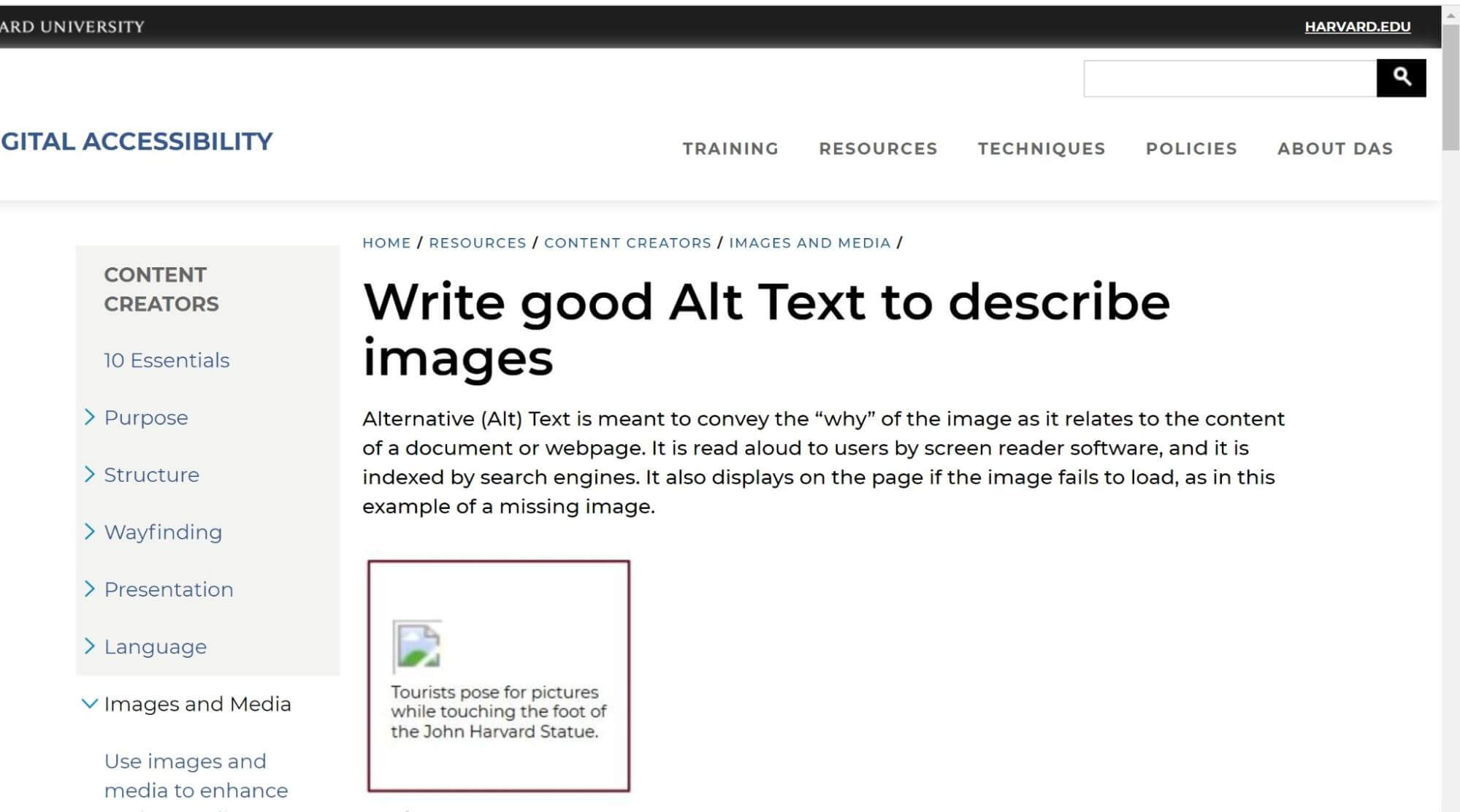using the keyword in image alt tag